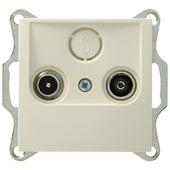 Berker S.1 Stopcontact Coax Crème