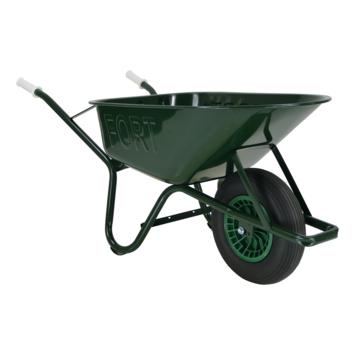 Altrad Fort kruiwagen groen metaal 80 liter