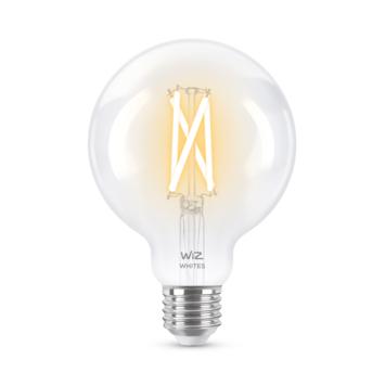 WiZ Connected LED globe E27 60W filament helder koel tot warmwit licht dimbaar