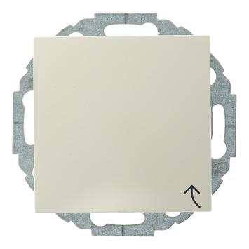 Berker S.1 Enkel Geaard Stopcontact met Afdekplaat Crème