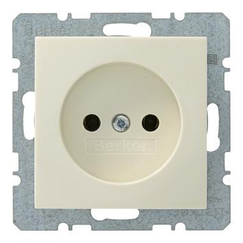 Berker S.1 enkel stopcontact crème