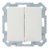 Siemens Delta i-system serieschakelaar wit