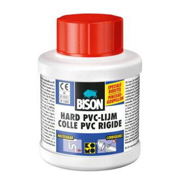 Bison hard PVC lijm potje 250 ml