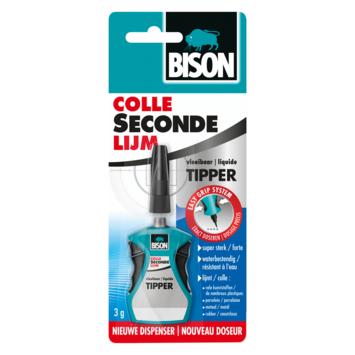 BISON SECONDELIJM VLOEIBAAR MET TIPPER 3G