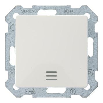 Siemens Delta wisselschakelaar wit met indicatielamp