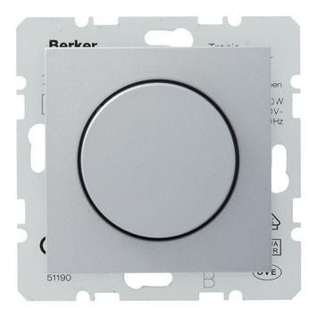 Berker B1-B.3-B.7 Dimmer Elektronische Trafo 20-600W Aluminium
