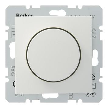 Berker B1-B.3-B.7 Dimmer Spoelentrafo 20-500W Wit
