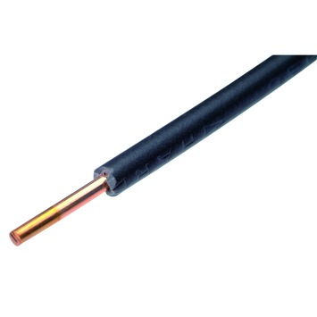 GAMMA installatiedraad zwart 1,5 mm² 10 meter
