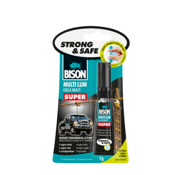 Bison Strong & Safe multilijm tube 7 gram