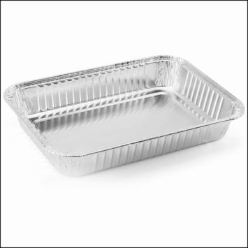Barbecue aluminiumbakjes set van 10