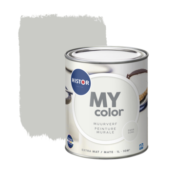 Histor My Color muurverf extra mat swansong 1 liter