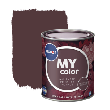 Histor My Color muurverf extra mat ench eggplant 1 liter