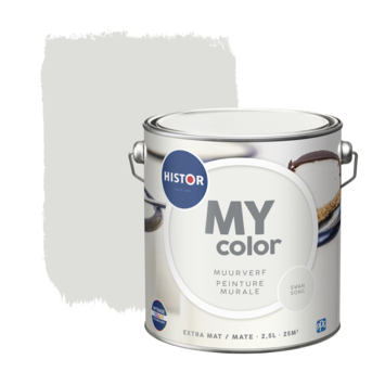 Histor My Color muurverf extra mat swansong 2,5 liter