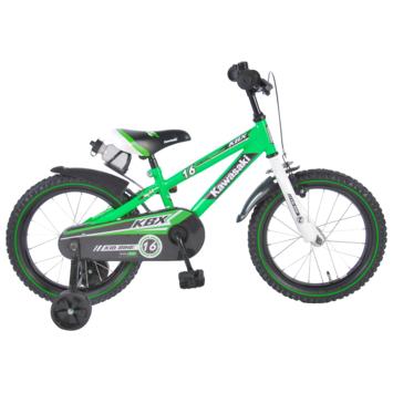 Kinderfiets Kawasaki Green 16 inch