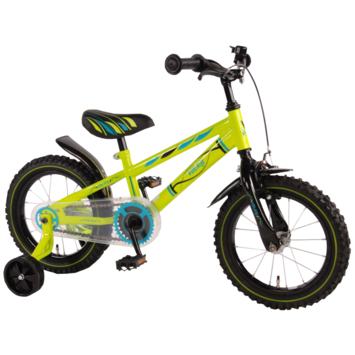 Kinderfiets Electric Green 14 inch