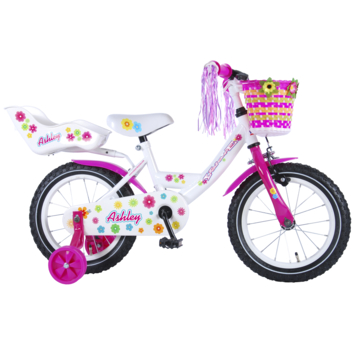 Kinderfiets Ashley Doll carrier 14 inch