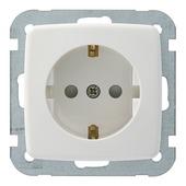 GAMMA K2 enkel geaard stopcontact wit