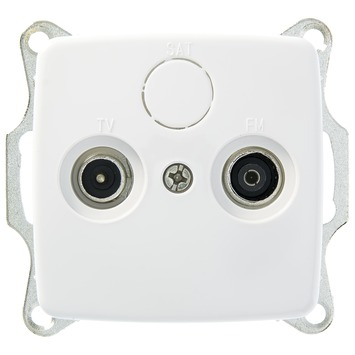 GAMMA K2 Stopcontact Coax Wit