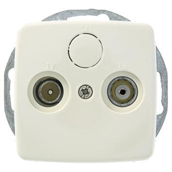 GAMMA K2 Stopcontact Coax Crème