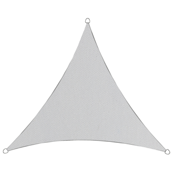 Schaduwdoek Driehoek Wit 3.6M