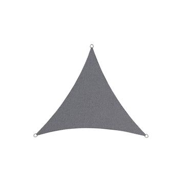 Schaduwdoek Driehoek Antraciet 5M