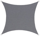 Schaduwdoek Vierkant Antraciet 3.6M