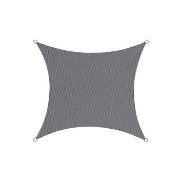 Schaduwdoek Vierkant Antraciet 5M
