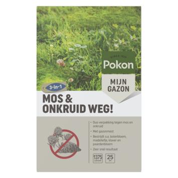 Pokon Mos en Onkruid Weg! Gazonherstel 1375gr