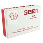 Elro verbanddoos EHBO wit met rood