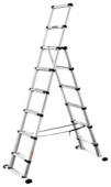 Telesteps Telescoopladder/Reformladder Combi Line 6+2 treden