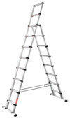 Telesteps Telescoopladder/Reformladder Combi Line 8+2 treden