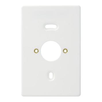 Attema Montageplaat Wit voor Combinatie en 2-Voudig Opbouw