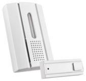 KlikAanKlikUit deurbel set draadloos met drukknop ACDB-7000AC