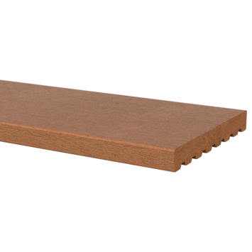 Vlonderplank Hardhout glad ca. 1,8x14,5 cm, lengte ca. 180 cm
