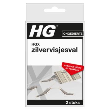 HGX zilvervisjesval 2 stuks