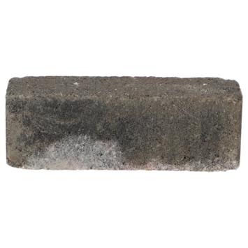 Trommelsteen Dikformaat Grijs/Zwart 20x6,5x6,5cm