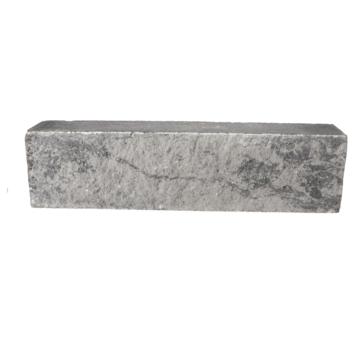 Stapelblok Beton Grijs/Zwart 60x15x12 cm
