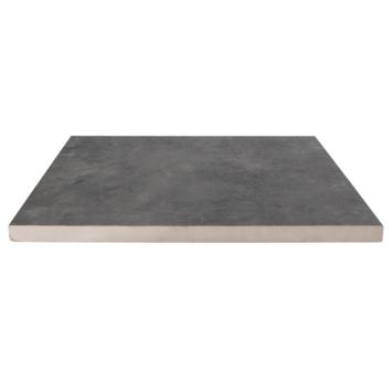 Keramische Terrastegel Kerastrada Leisteen Antraciet 60x60x3cm