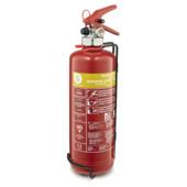 Smartwares Vetbrandblusser VB2 2 liter Brandklasse AF Inclusief Ophangbeugel