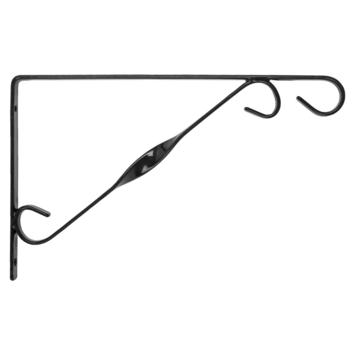 Bindingfix muurhaak zwart 30 cm