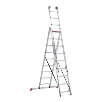 Altrex Reformladder All Round 3x9 treden met gratis Laddermat