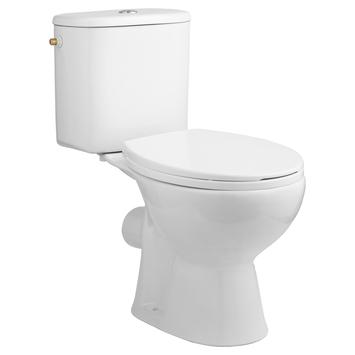 Atlantic Axel toilet duoblok met reservoir PK/muuraansluiting