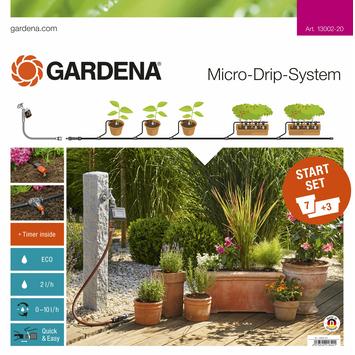 Gardena Micro Drip startset M bloempotten met besproeiingscomputer