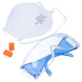 Suki veiligheidsset - bril masker oordop