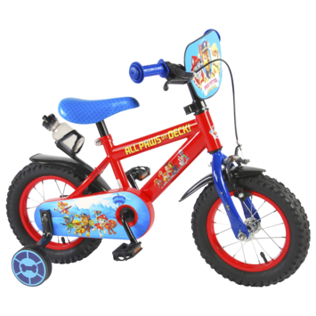 Kinderfiets Paw Patrol Red 12 inch
