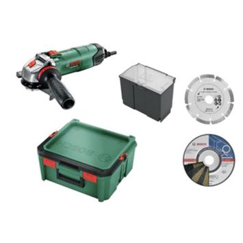 Bosch haakse slijper PWS 850-125 Systembox