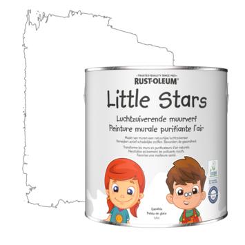 Rustoleum Little Stars Luchtzuiverende Muurverf IJspaleis 2,5 liter