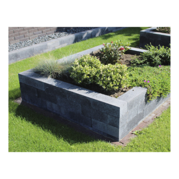 Stapelblok Beton Strak Antraciet 30x12x10 cm