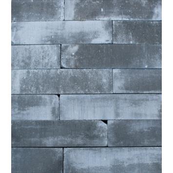 Stapelblok Beton Getrommeld Grijs/Zwart 60x15x15 cm