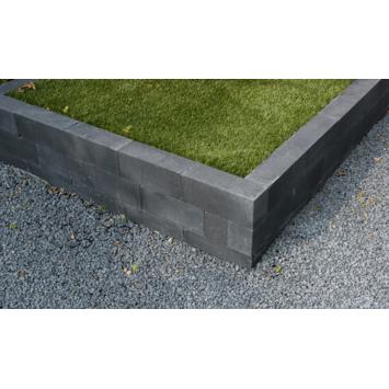 Stapelblok Beton Strak Antraciet 60x12x12 cm